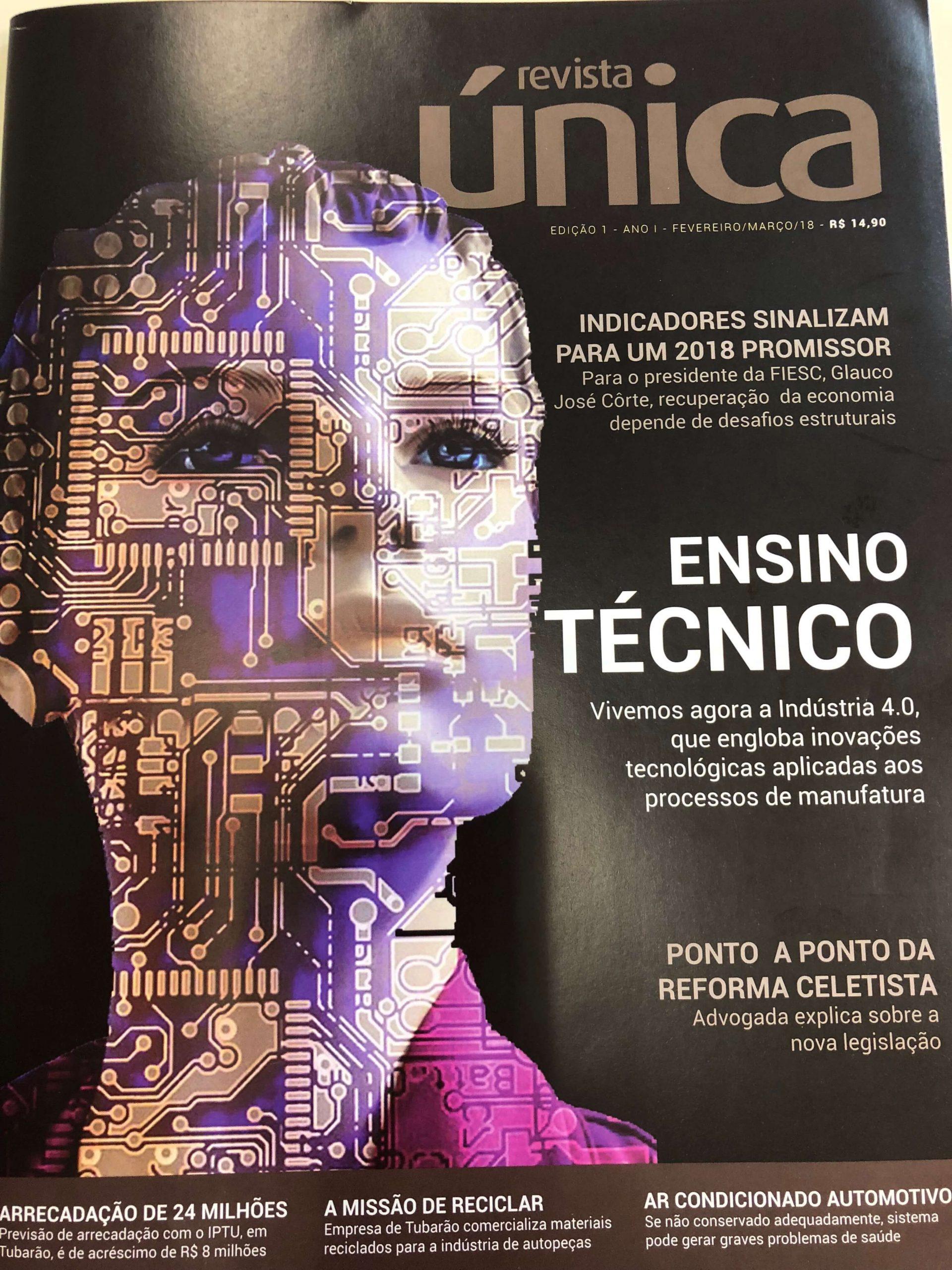 Capa Revista Única Ed.1