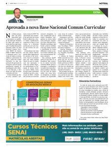 Aprovada a nova Base Nacional Comum Curricular