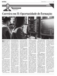 Carreia em TI: Oportunidade de formação