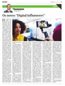 """Os novos """"Digital Influencers"""""""