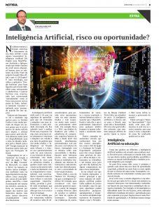 Inteligência Artificial, Risco ou Oportunidade?