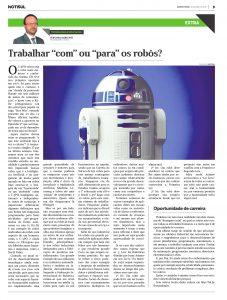 """Trabalhar """"com"""" ou """"para"""" Robôs?!"""