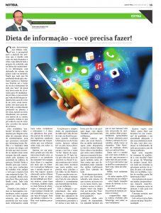 Dieta de Informação – Você precisa fazer!