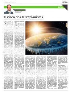 O Risco dos Terraplanistas