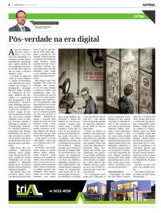 Pós Verdade na era digital