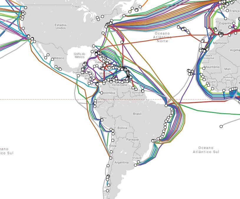 Cabos Submarinos Brasil