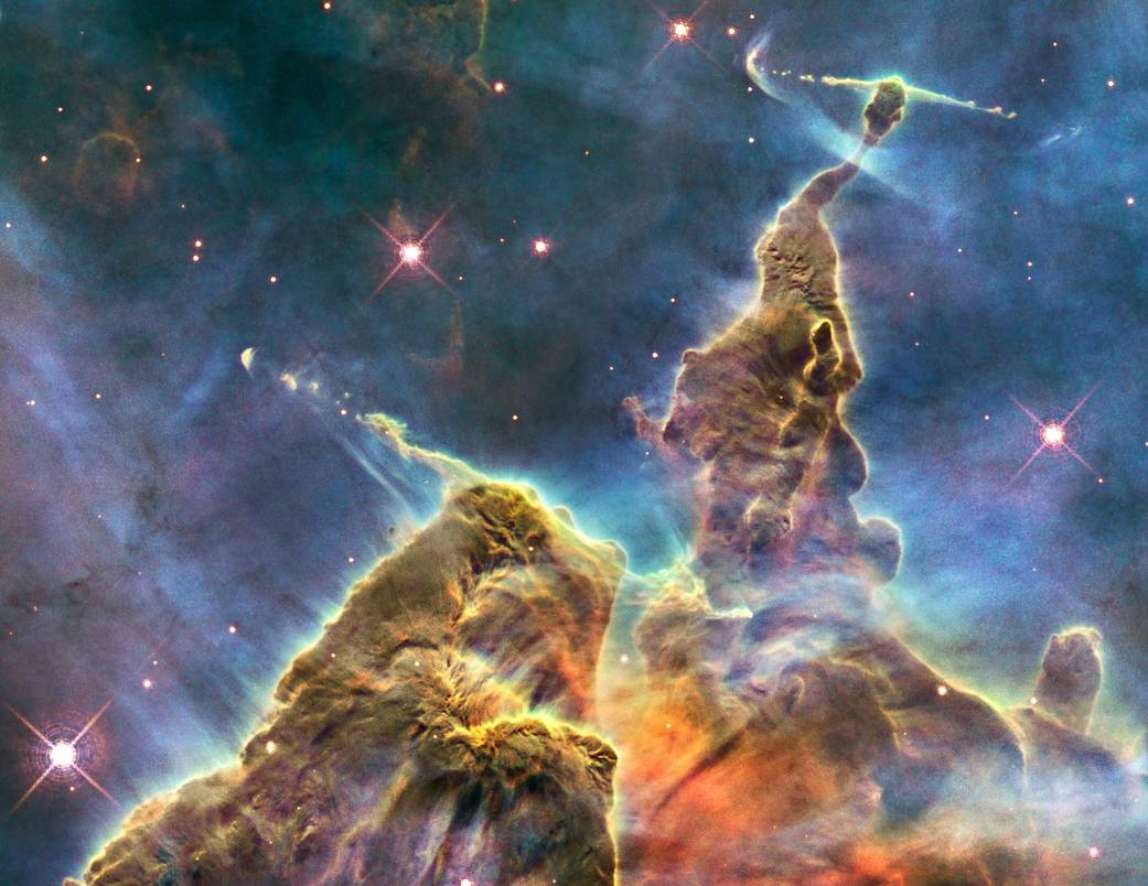 Carina Nebula's 'Mystic Mountain'