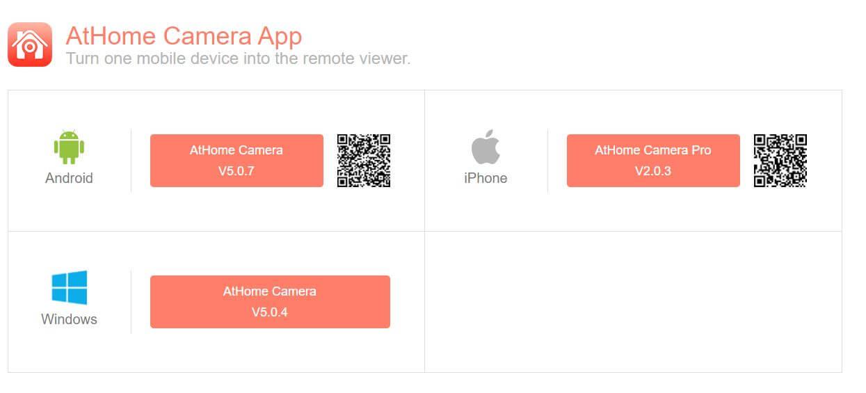 ATHome camera app