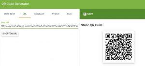 API WhatsApp para links diretos/QRCodes