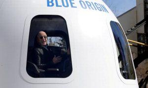 Blue Origin vende por US$28 mi viagem espacial com Jeff Bezos